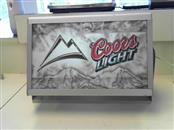 COORS LIGHT Sign BEER SIGN